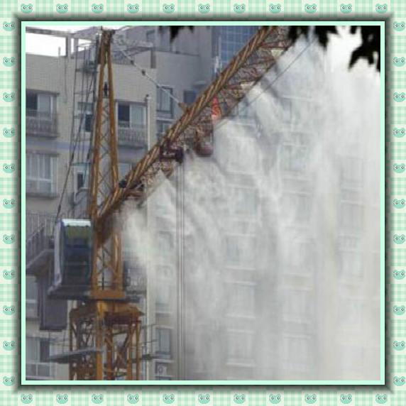 建筑楼房外墙降温塔吊喷淋
