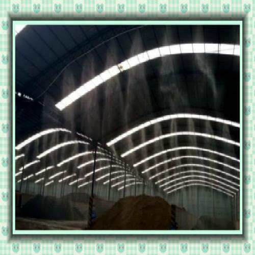 石材厂除尘降温雾化系统